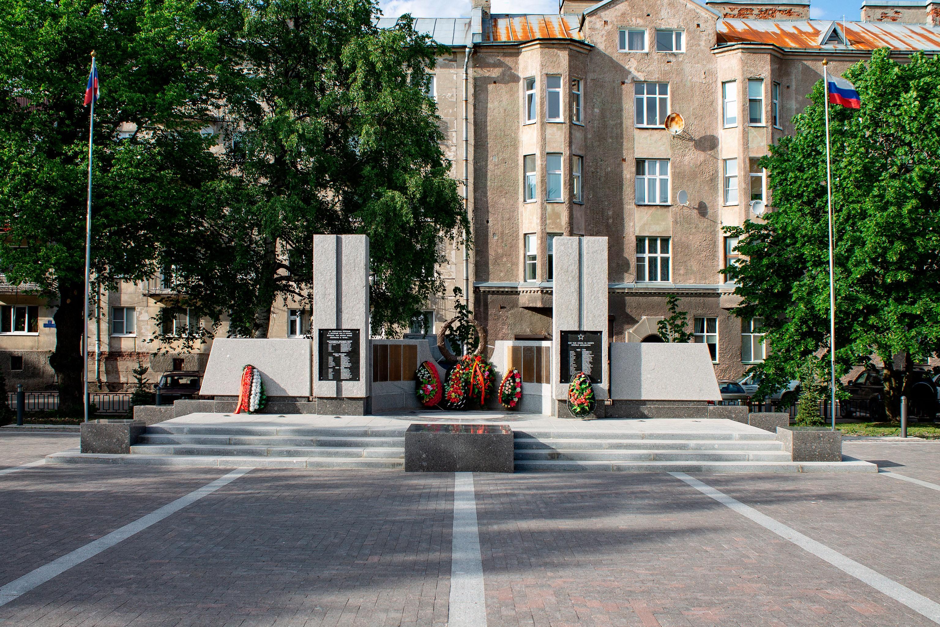 Памятник воинам-интернационалистам в Выборге
