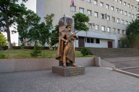 Памятник пограничнику