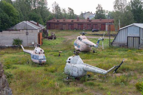 Вертолётное кладбище