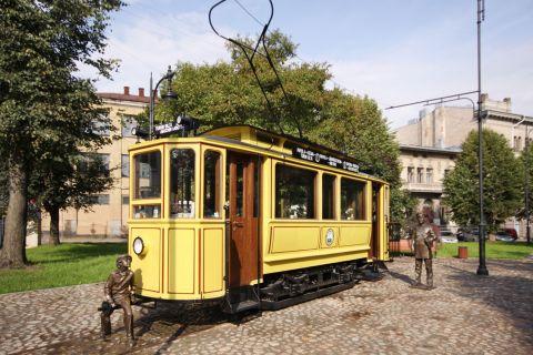 Памятник выборгскому трамваю